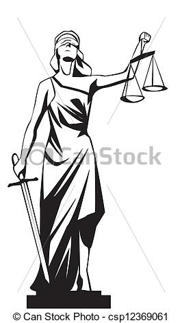 Lady justice..