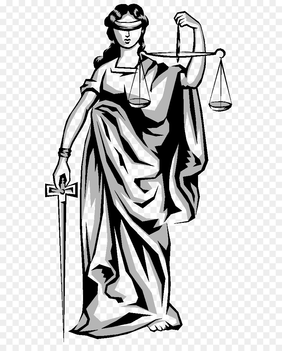 Lady Justice Clothing png download.