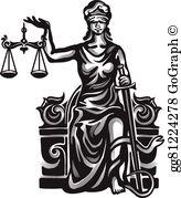 Lady Justice Clip Art.