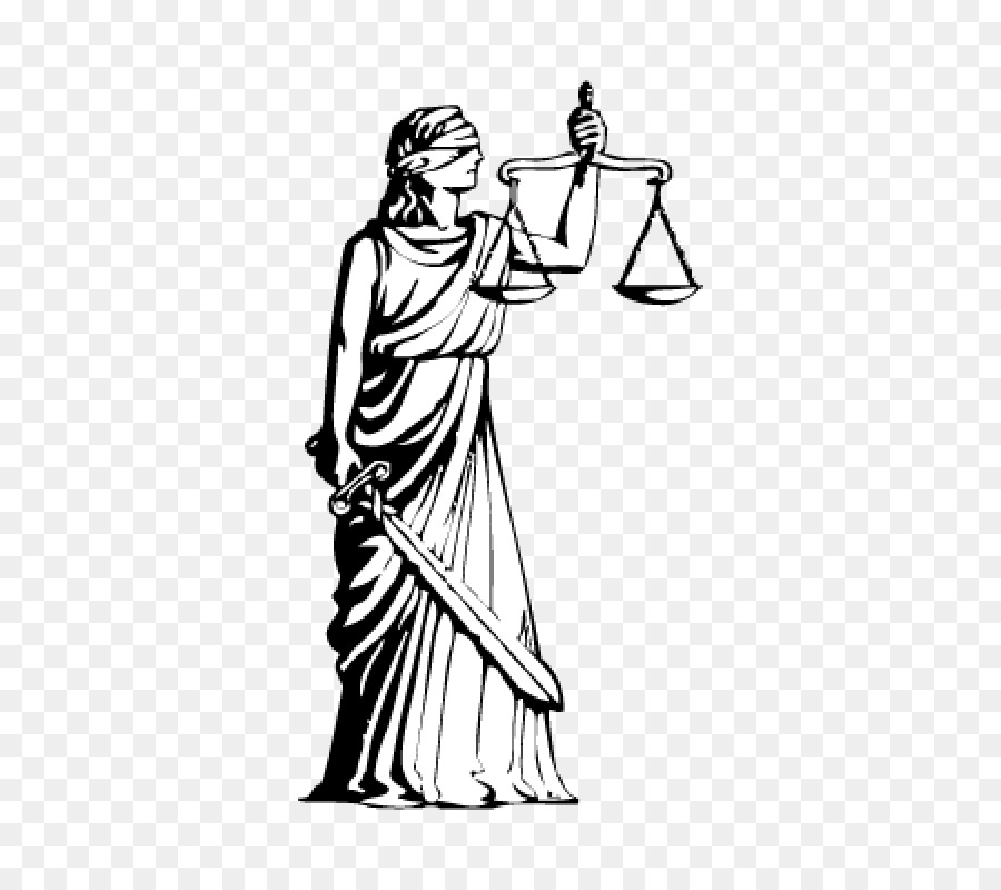 Lady Justice Standing.