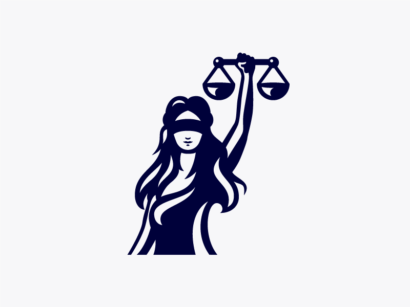 Lady Justice Logo by Paul Aleman on Dribbble.