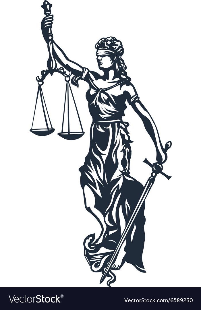 Femida lady justice.