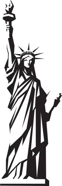 Best Lady Liberty Illustrations, Royalty.