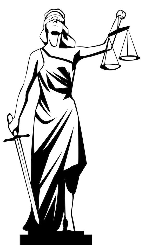 Lady Justice, also commonly know as ' Justitia,' has important.