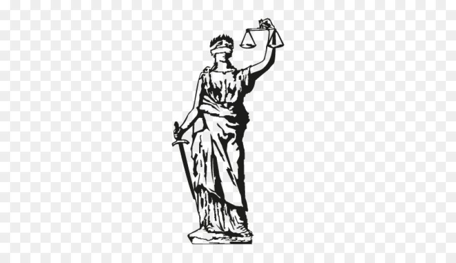 Lady Justice Standing png download.
