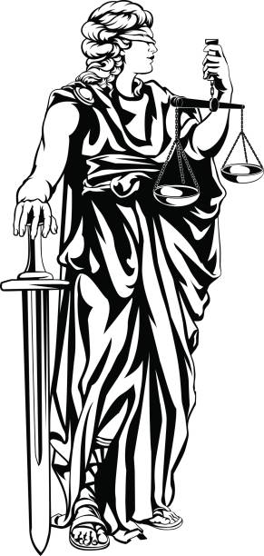 Best Lady Justice Illustrations, Royalty.