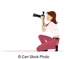 Lady photographer clipart » Clipart Station.