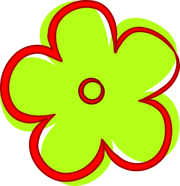 Free vector graphic: Flower, Bloom, Red, Green.