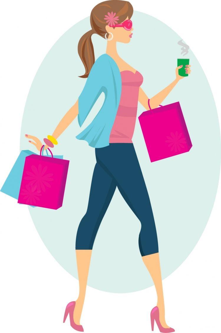 PEOPLE / people Fashion Shopping Girl.