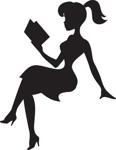 Reading Clipart Image.
