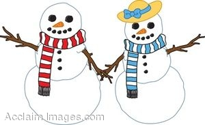 Lady snowman clipart 6 » Clipart Station.