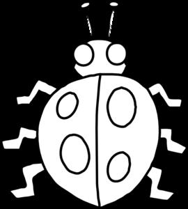 Ladybug Outline Clip Art at Clker.com.