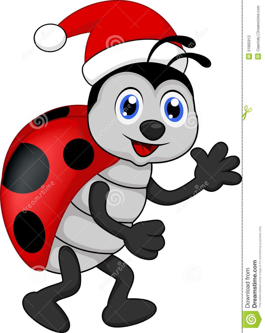 Ladybug cliparts.