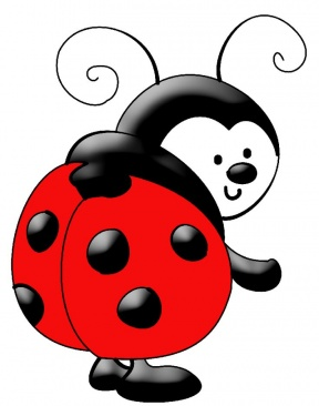 Ladybug Flower Clipart Kids.