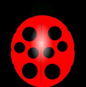 2189 Ladybug free clipart.