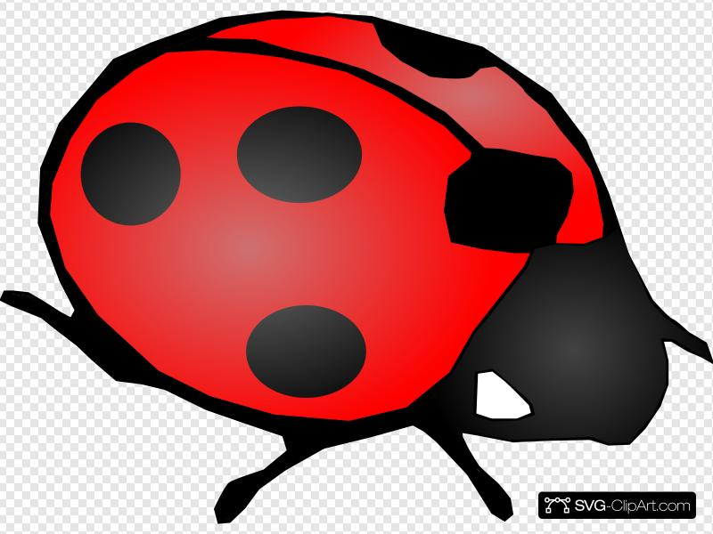 Ladybug Clip art, Icon and SVG.