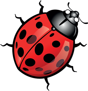 Ladybug Logo Vector (.EPS) Free Download.