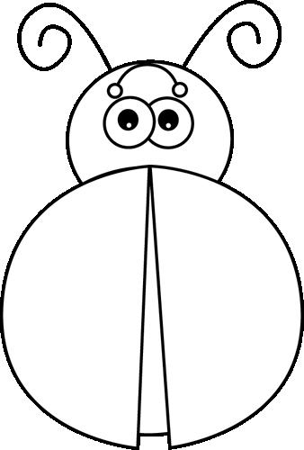Free Ladybug Outline, Download Free Clip Art, Free Clip Art.