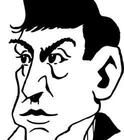 Caricature Drawing Clip Art.