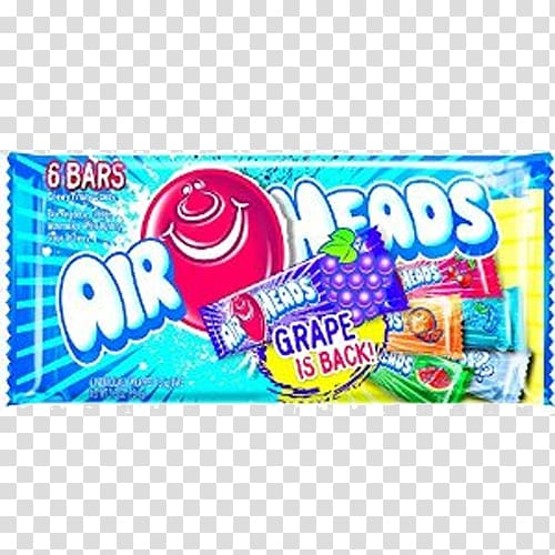 Laffy Taffy AirHeads Candy Lollipop, candy transparent.