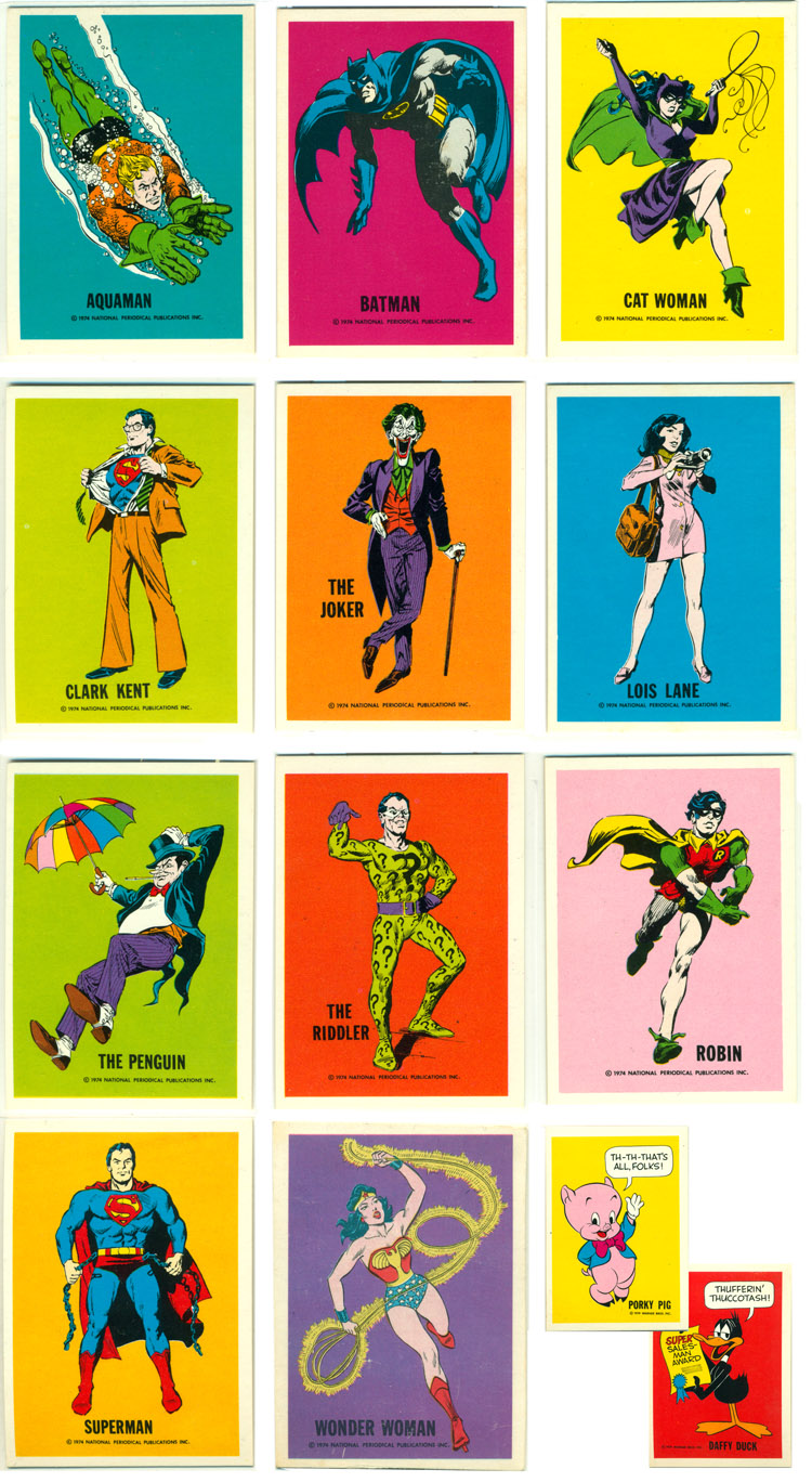 DC Universe Trading Cards.
