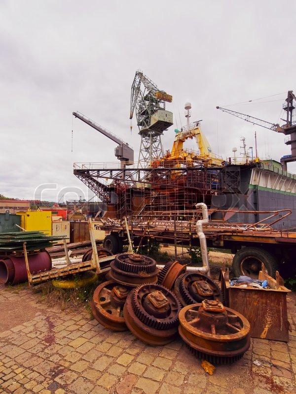 Danziger Werft , Polen.