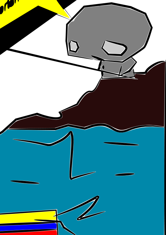 Tiled Blue Fish Clip Art Download.
