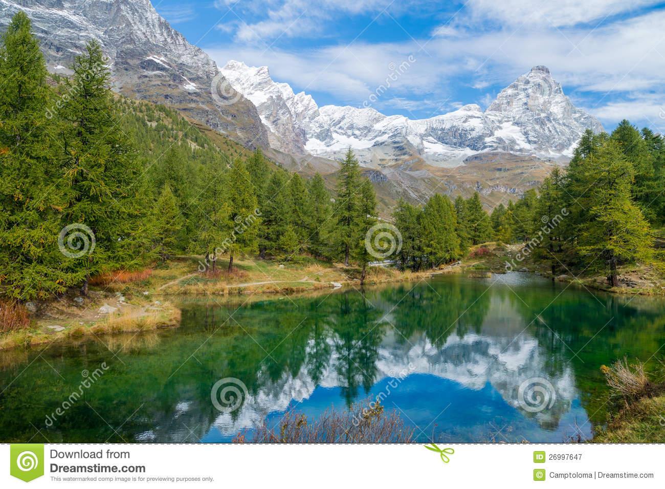Lago Bleu (Italy, Breuil.