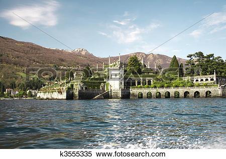 Stock Image of The Isola Bella in Lago Maggiore k3555335.
