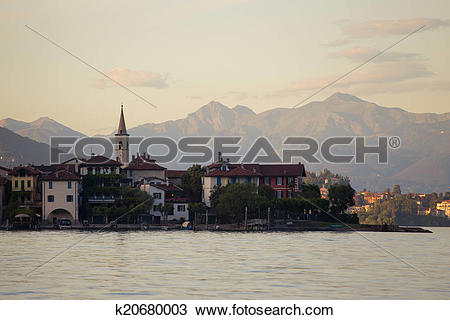 Stock Photo of Lago Maggiore k20680003.