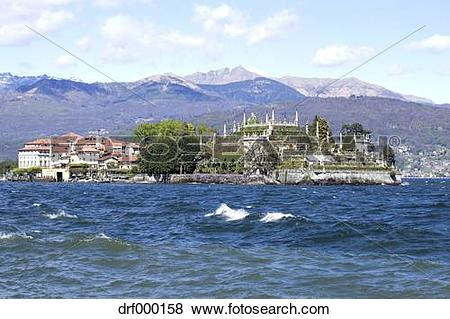 Pictures of Italy, Stresa, Lago Maggiore, Isola Bella drf000158.