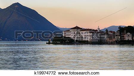 Stock Photo of Lago Maggiore k19974772.