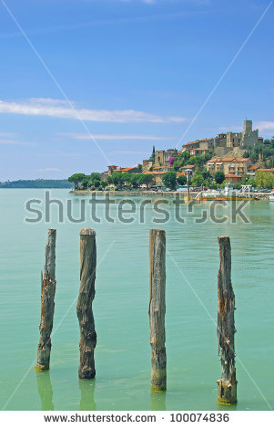 Lago Trasimeno Stock Images, Royalty.