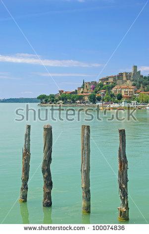Lago Trasimeno Stock Photos, Royalty.