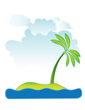 Lagoon Clip Art.