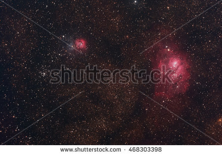 Lagoon Nebula Stock Photos, Royalty.