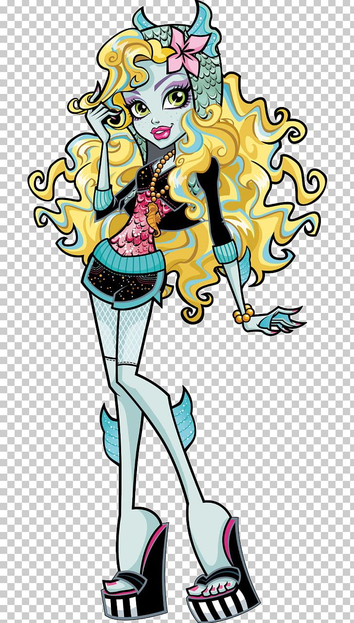Lagoona Blue Monster High Clawdeen Wolf Doll PNG, Clipart.