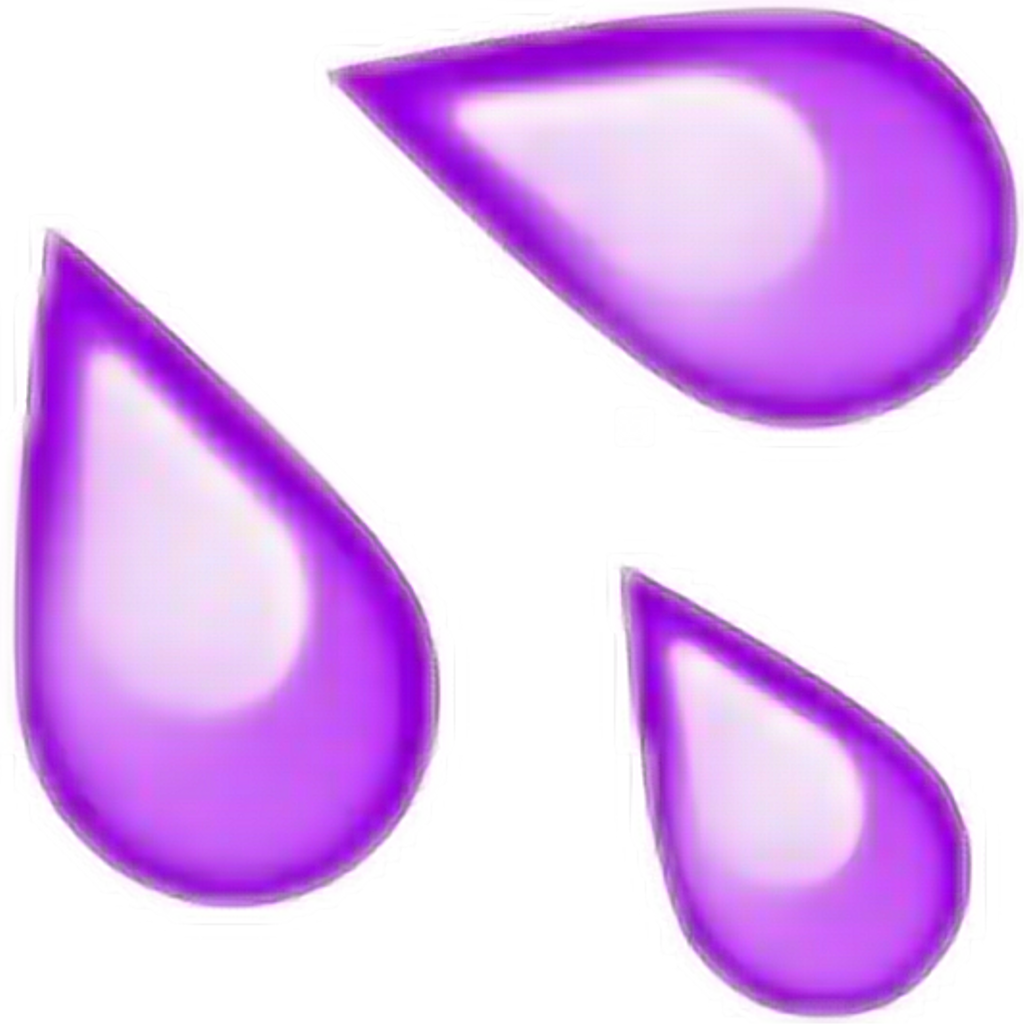 Purple Crybaby Crying Lagrimas Tumblr Emoji Photo.