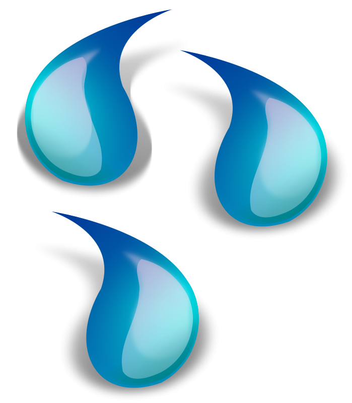 Free Clipart: Water drop 1.