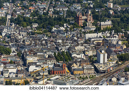 Picture of View over the historic centre of Limburg with its.