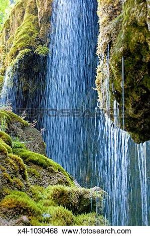 Pictures of upper Bavaria waterfall near Unternogg x4l.