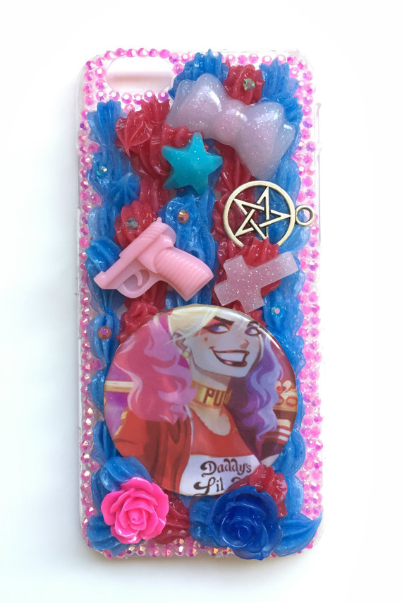 Decoden Harley Quinn Whip Phone Case for Apple by witchykittyclub.
