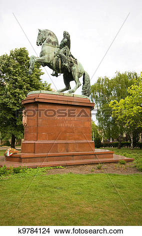 Stock Photo of equestrian statue of Francis II R?k?czi Hungarian.