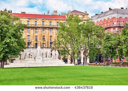 Lajos Kossuth Square Stock Photos, Royalty.