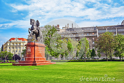Lajos Kossuth Monument Budapest Stock Photos, Images, & Pictures.