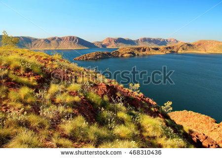 Lake Argyle Stock Photos, Royalty.