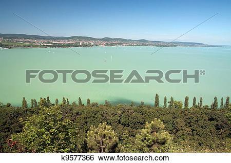 Stock Images of Lake Balaton k9577366.