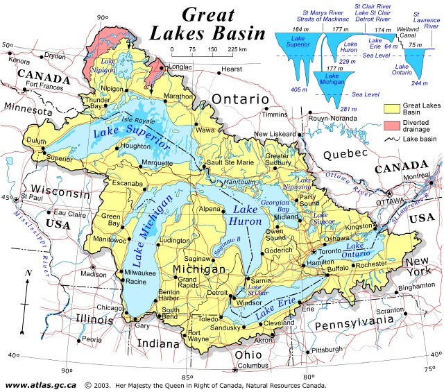 Clipart great river basin map.