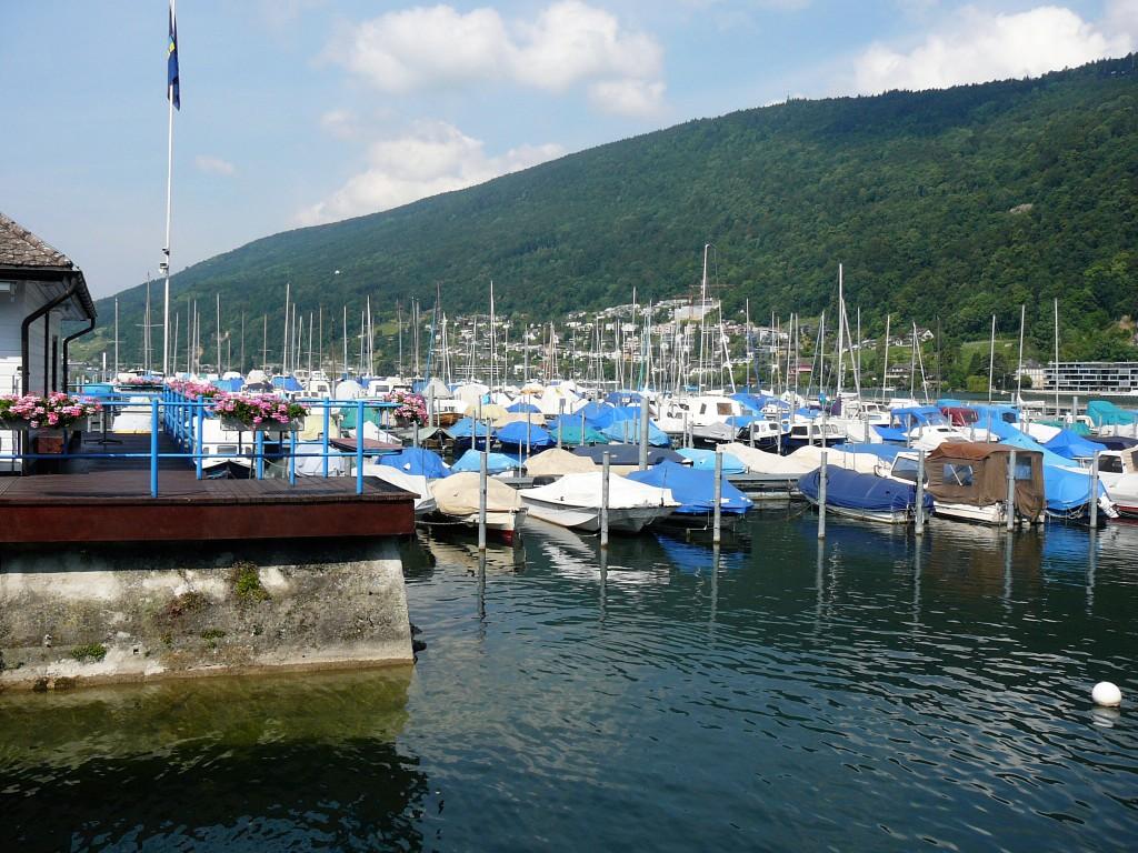 Sailing and Boating on Lake Biel/Bienne.