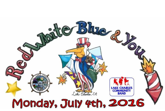 Red, White, Blue and You: July 4th Celebration In Lake Charles, La..